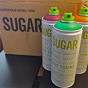 Sugar Spray Paint